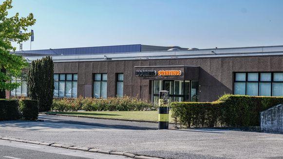 De vestiging van Hoorens Printing langs de Ringlaan (R8) in Heule.