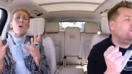 Céline Dion schittert in 'Carpool Karaoke' met James Corden