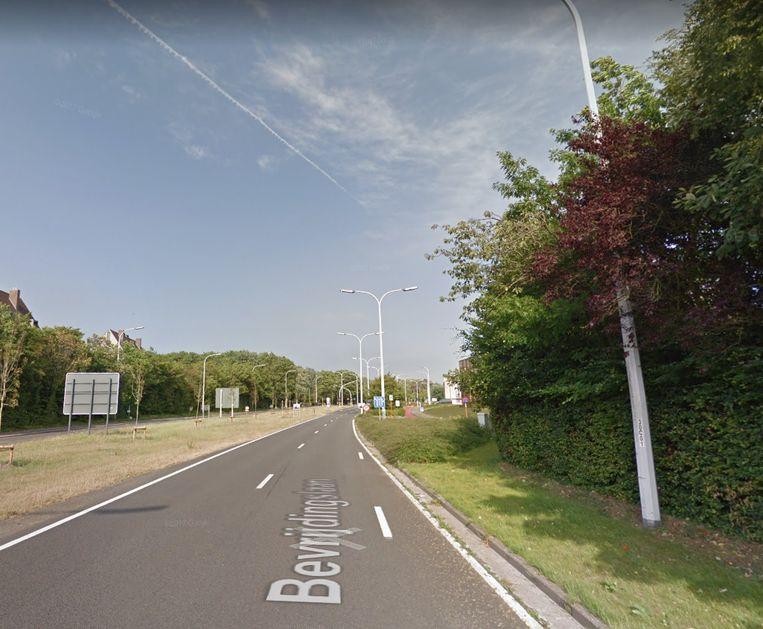 De Bevrijdingslaan in Brugge.