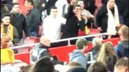 Valencia-fan kan achterstand niet verdragen en daagt Arsenal-supporters uit met nazigroet