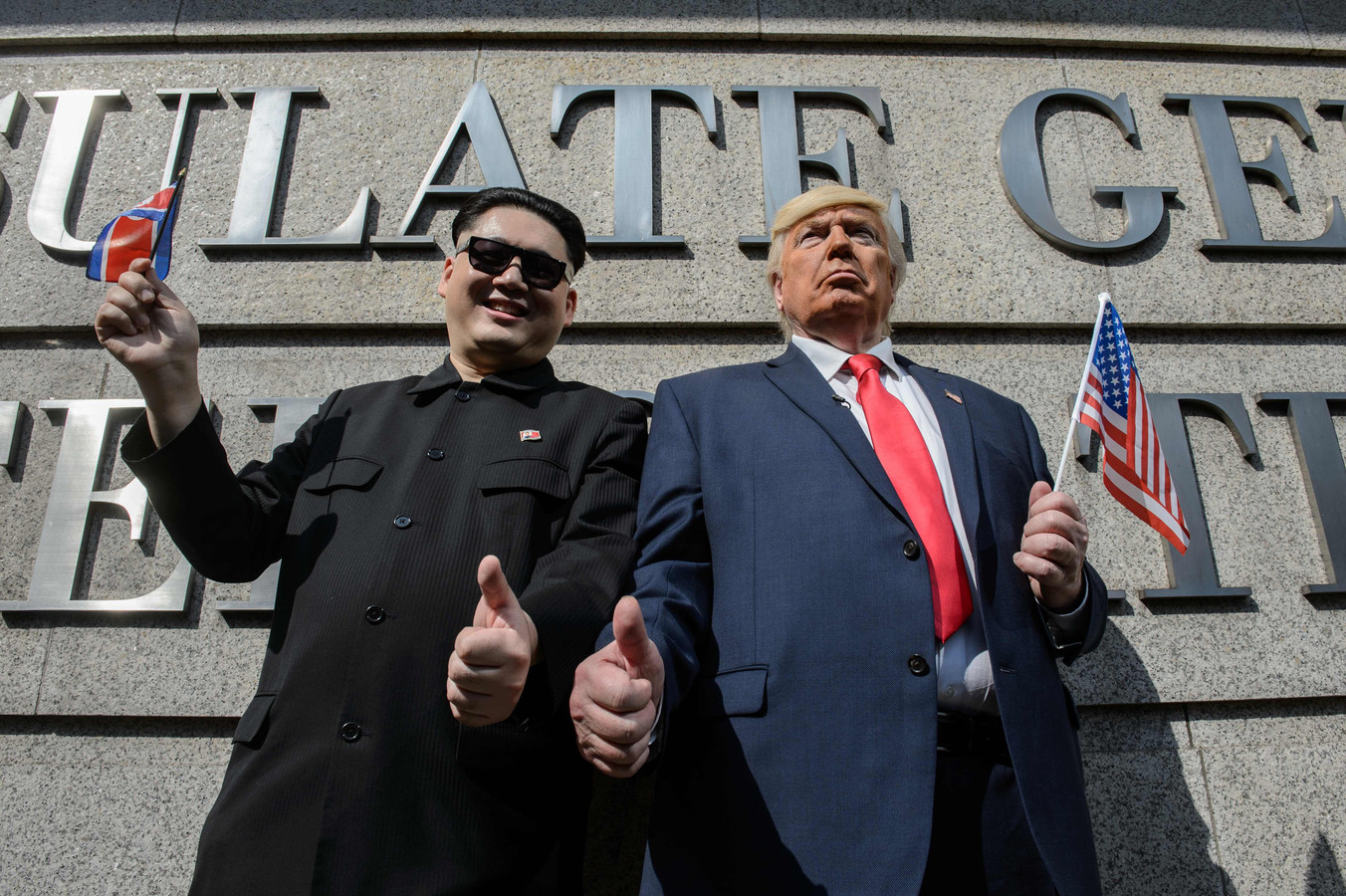 ... vinden Noord-Koreanen eigenlijk van president Trump? | Foto | ed.nl