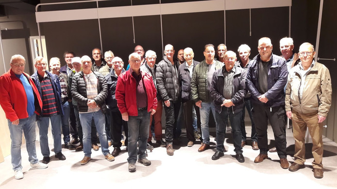De mannen van het oude postkantoor in Wageningen