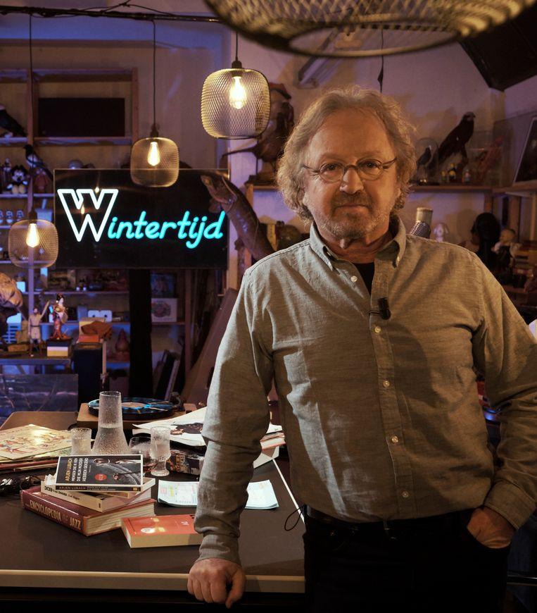 Harry de Winter: 'Ik kan mezelf zijn op televisie.' Beeld Mark de Blok