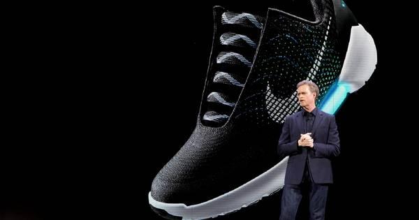 sports shoes a976d f38a8 Nike lance la première chaussure qui se lace toute seule | Economie |  7sur7.be