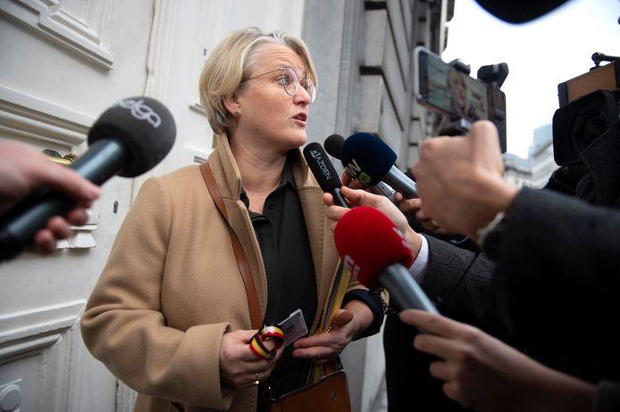 La ministre fédérale de l'Emploi, Nathalie Muylle