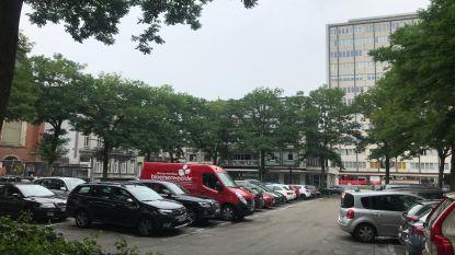 Infovergadering over heraanleg Esplanadeplein met schepen De Gucht (Open Vld)