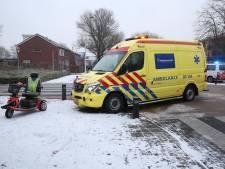 Bestuurder scootmobiel gewond bij aanrijding in Wierden