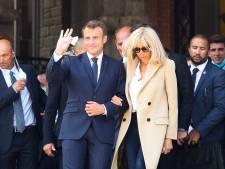 Ce cliché d'un moment intime entre Brigitte et Emmanuel Macron fait fondre les internautes