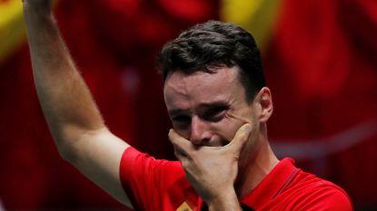 """Drie dagen na verlies van vader is Bautista Davis Cup-held, Nadal: """"Hij is een voorbeeld voor de rest van mijn leven"""""""