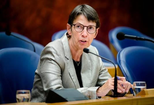 Staatssecretaris Jetta Klijnsma van Werkgelegenheid.