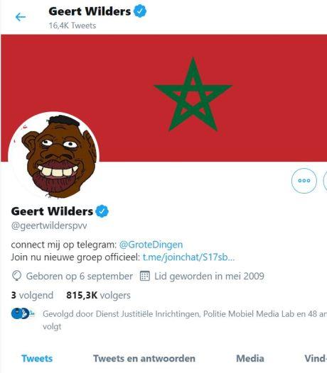 Wilders vindt Twitterhack 'echt heel vervelend, gekker moet het niet worden'