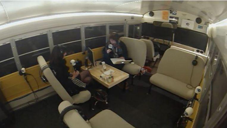 Screenshot van de Radio 1 livestream. Beeld .