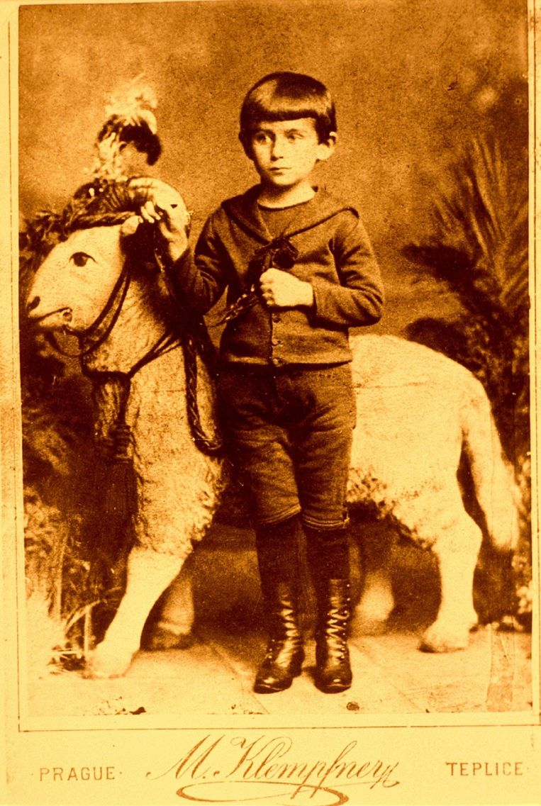 Franz Kafka op 5-jarige leeftijd. Beeld HH