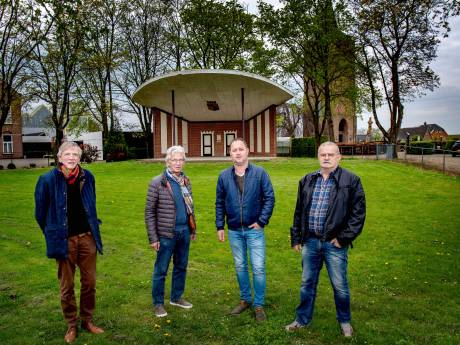 Muziekkoepel Winssen is 'grootste openluchtpodium van Maas en Waal'