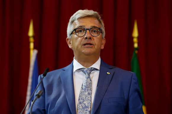 Kris Van Dijck nam gisteren ontslag als Vlaams parlementsvoorzitter.