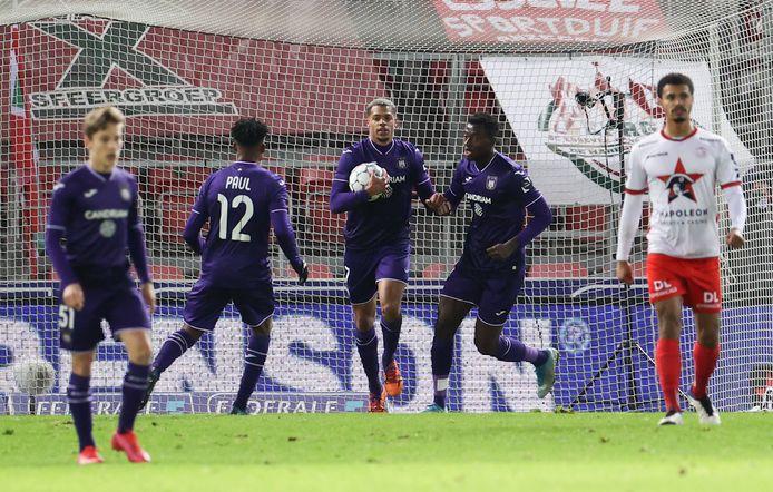 Après l'égalisation de Lukas Nmecha, Anderlecht semblait être passé au-dessus de son adversaire du jour. Mais ça n'a pas suffi.