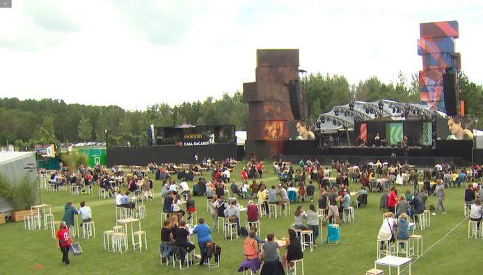 Le concert de Selah Sue au festival Rock Werchter 2020.
