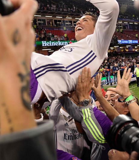 Goed voorbereide Ronaldo (32) voelt zich jong: 'Leeftijd slechts een nummer'