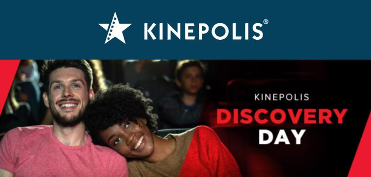 Kinepolis organiseert een gratis kijkdag.