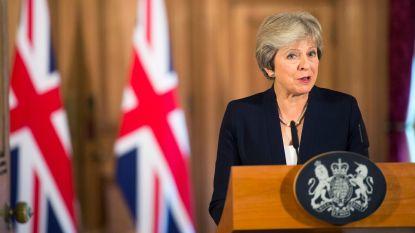 """""""Britse premier Theresa May onderzoekt in het geheim nieuwe verkiezingen voor november na brexit-debacle"""""""