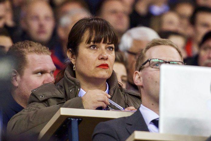 Ester Bal in haar tijd bij Vitesse.