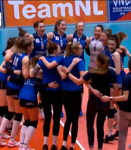 Supercup volleybal voor één keer met vier teams
