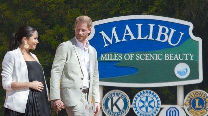 """Prins Harry en Meghan Markle op huizenjacht in Malibu: """"Ze heeft heimwee naar huis"""""""