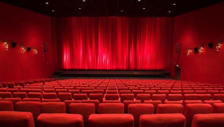 Het aantal bioscoopzalen in Nederland is in tien jaar 39 procent toegenomen Beeld anp