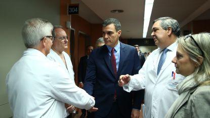 Spaanse premier bezoekt gewonde agenten in Barcelona