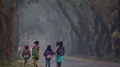 Indiase politicus knalt tegen schoolmuur en doodt 9 kinderen