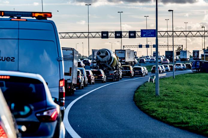 Files op de snelwegen