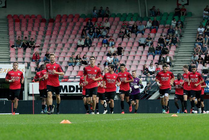NEC is in De Goffert begonnen aan de officiële voorbereiding op het nieuwe seizoen