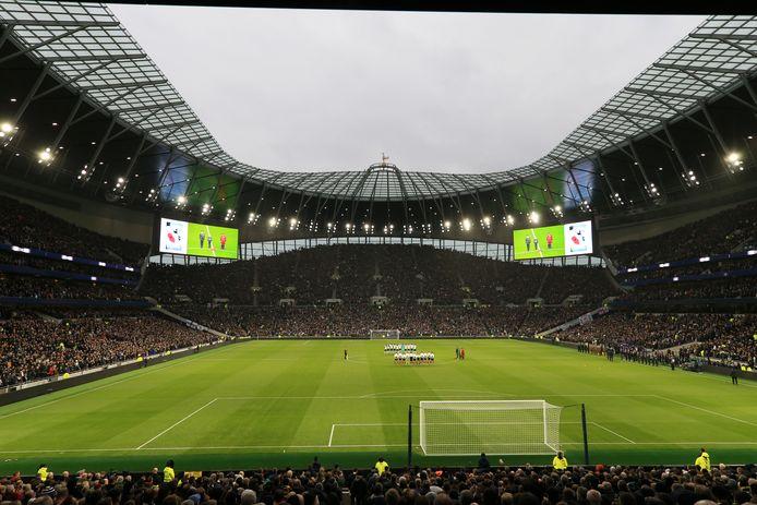 Het Tottenham Hotspur Stadium is zondag het decor van de derby tussen de vrouwenteams van Spurs en Arsenal.