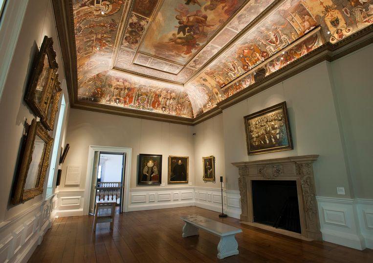 Interieur van The Queen's House gallery, tweede verdieping. Beeld