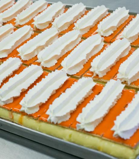 Bakkers maken in centrum Ommen mega-tompouce van 200 meter