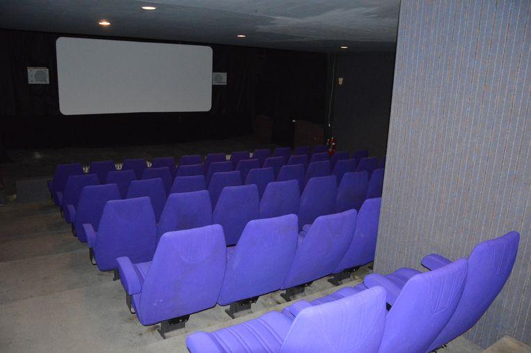 De zaal boven van Cinema Central.