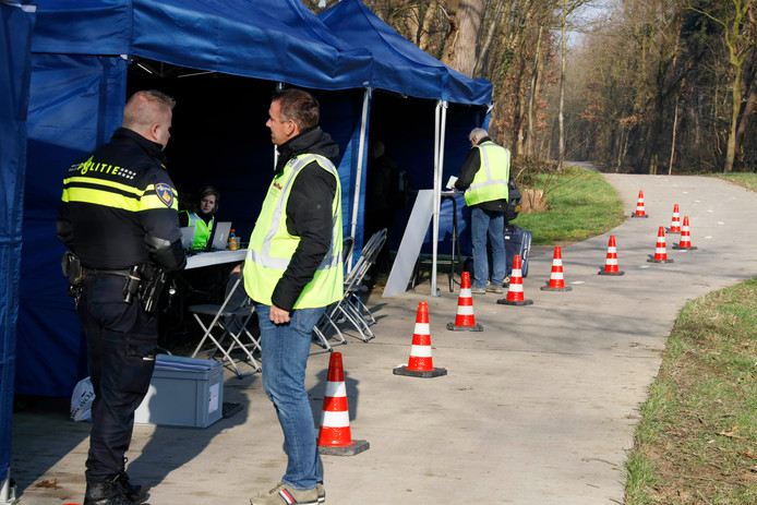 Algemene controle op bungalowpark Wighenerhorst in Wijchen, 21-3-2019 .