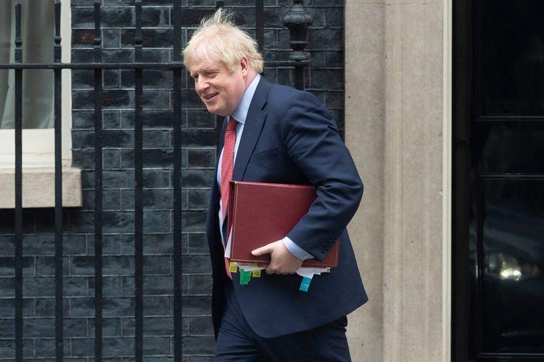 Boris Johnson trok de deur achter zich dicht op Downing Street 10, maar ook voor de Europese Unie.
