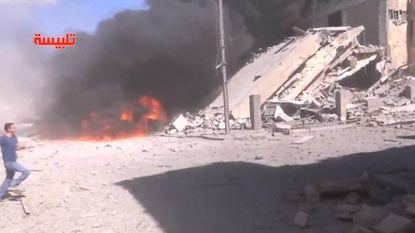 """""""Russische bombardementen in Syrië op gematigd verzet, niet op IS"""""""