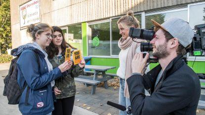 Leerlingen Sterrebos schitteren in 'Make Belgium Great Again'