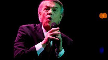 Salvatore Adamo geeft concert op Grote Markt