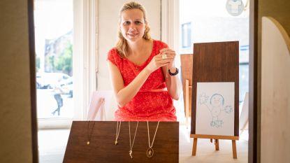 Ontwerpster maakt juwelen van kindertekeningen