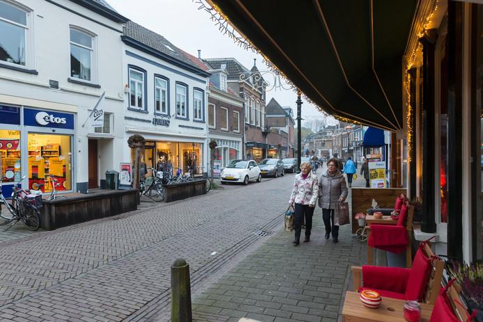 De Meipoortstraat in Doesburg.
