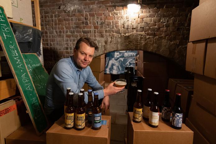 Jan Marcel Schaper uit Zwolle heeft een eigen bierbrouwerij.