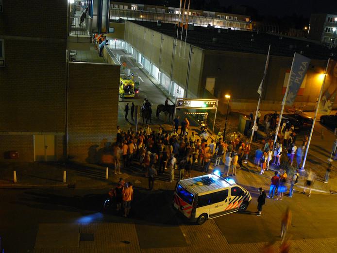 De moord op Richard Houtveen vond plaats vlakbij de parkeergarage in Nieuwegein, niet ver van de Markt.