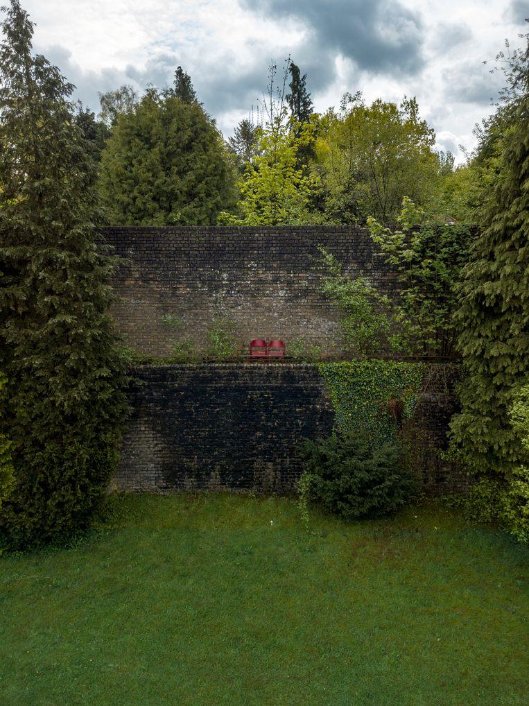 De muur van Mussert, mei 2018. Beeld Dim Balsem