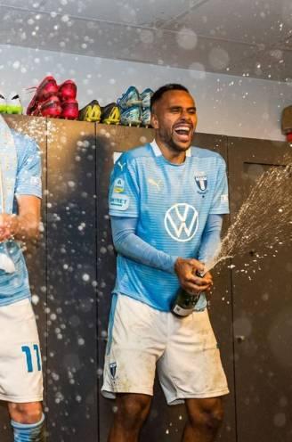 """Anderlecht-speler Isaac Kiese Thelin kampioen met Malmö: """"Kom niet terug om op de bank te zitten"""""""