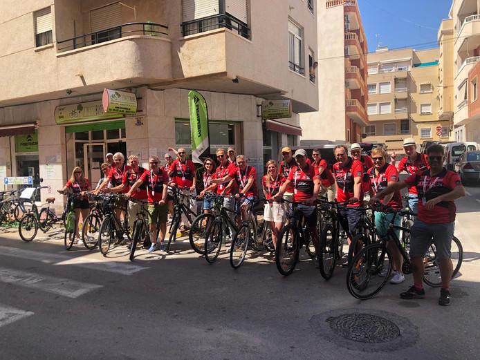 Een Utrechtse delegatie bezoekt dit weekend de start van de Vuelta in Spanje.