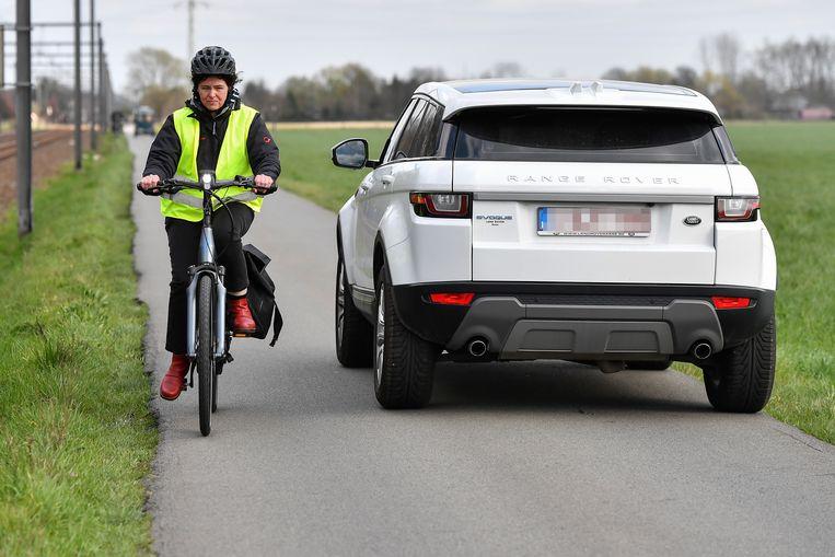 """Voor N-VA is het duidelijk: """"Van de Reigersweg een fietsstraat maken, biedt geen enkele oplossing voor de gevaarlijke conflicten tussen fietsers en auto's daar."""""""