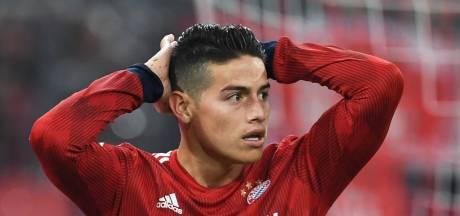 Bayern voorlopig zonder Rodríguez, middenvelder mogelijk niet tegen Ajax